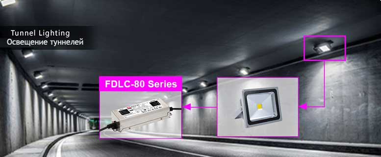 FDLC 80 new constant power led driver 5