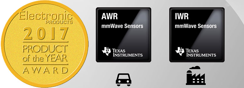 mmwavw sensors product of the year 1