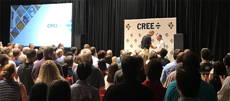 new ceo of cree 2